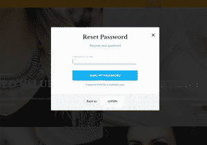 Lost Password Form