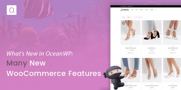 What's New in OceanWP: Many New WooCommerce Features
