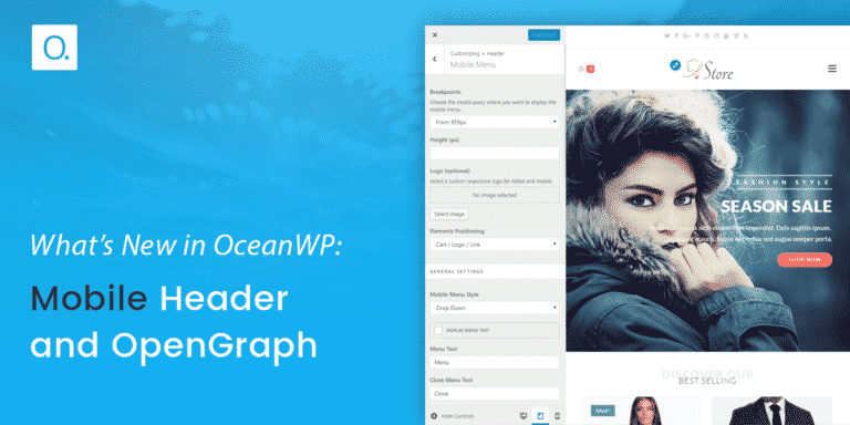 What's New in OceanWP: Mobile Header & OpenGraph