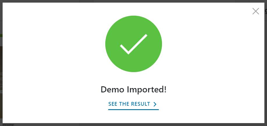 demo imported