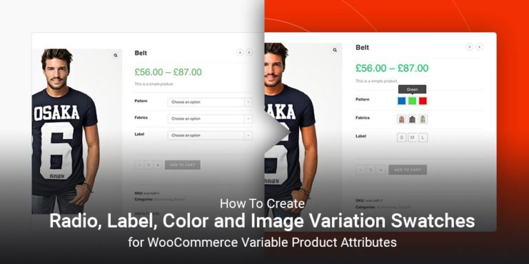 How To Create Radio, Label, Color and Image Variation Swatches for WooCommerce Variable Product Attributes