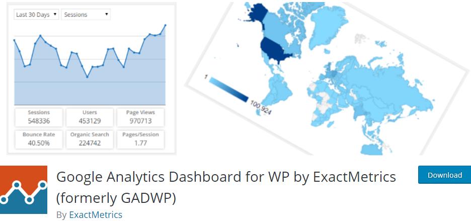 Google Analytics by ExactMetrics